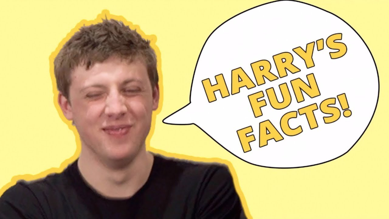 ALL Harry's Fun Facts IN ORDER