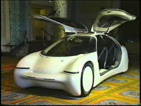 General Motors Ultralite At The 1992 Chicago Auto Show Youtube