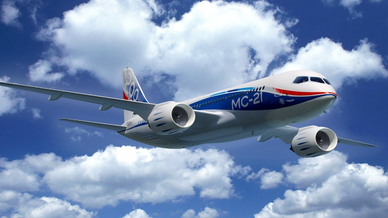 Презентация самолета МС-21 - YouTube