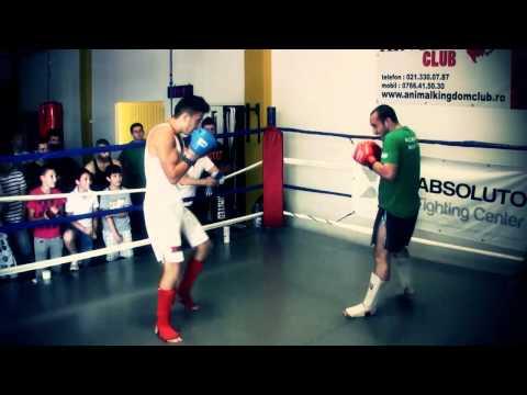 George (meciul 2) - Interclub 05.05.2012 (Kickbox Bucuresti, Romania)