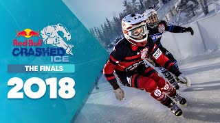One of the most dramatic finals of Red Bull Crashed Ice 2018