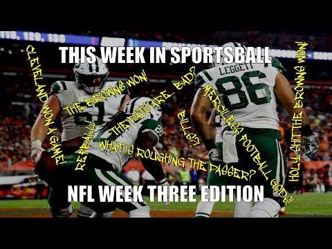 This Week in Sportsball: NFL Week Three Edition (2018)