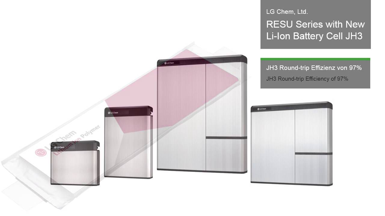 lg chem battery. ees award 2016 winner - lg chem, ltd.: resu series with new li-ion battery cell jh3 youtube lg chem