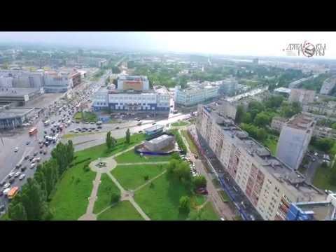 Аэросъемка - Московское шоссе (Нижний Новгород)
