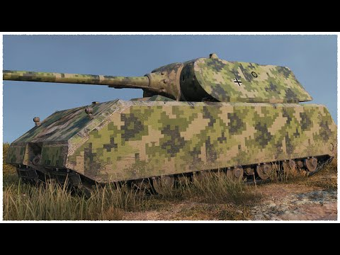 MAUS • MADE IN GERMANY • WoT Gameplay