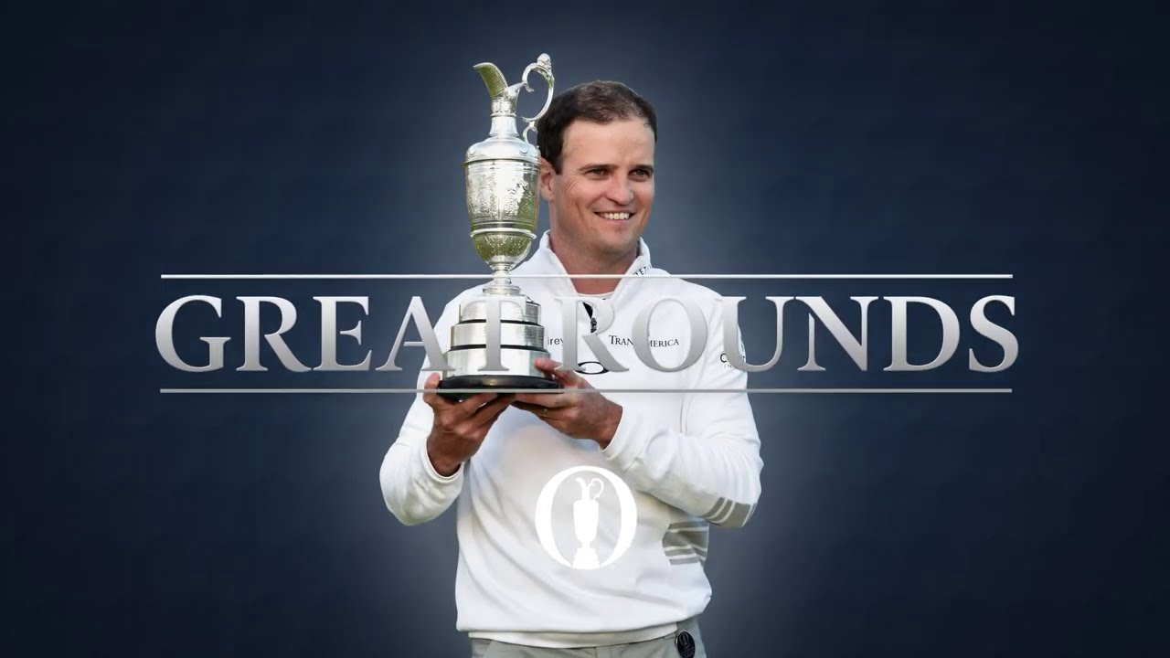 Zach Johnson at St Andrews | Great Open Rounds