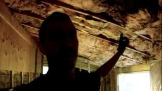 Hanging Sheetrock in the Storage Room - 92 - My DIY Garage Build HD Time Lapse