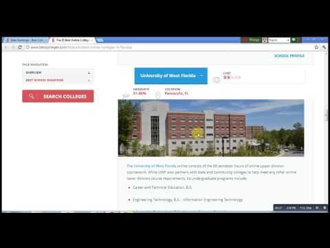 Top 5 Accredited Online Colleges in Florida
