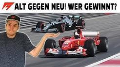 Schumis Ferrari VS. Hamiltons Mercedes! ALT VS. NEU in F1 2019