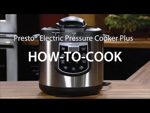 How-to-Cook with the Presto® Electric Pressure Cooker Plus