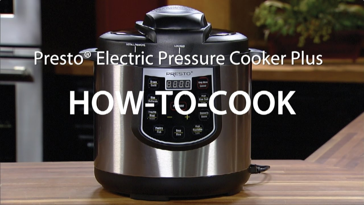 presto pressure cooker instructions