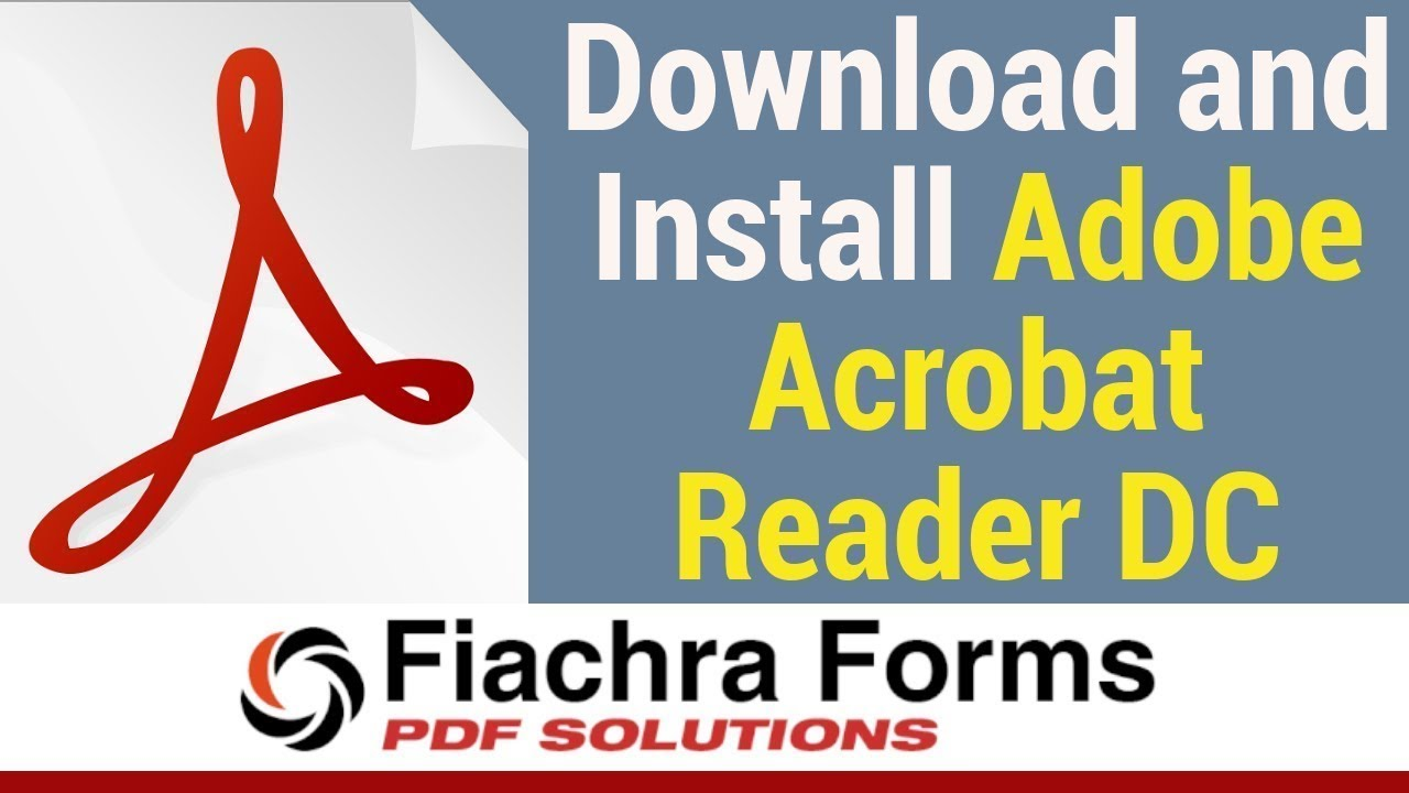 adobe acrobat reader dc download and install youtube