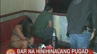 UB: Bar sa Pasay na hinihinalang pugad ng kalaswaan, ni-raid