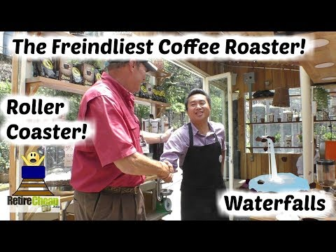 Coffee, Waterfalls and Roller-coaster | Da Lat  🎢 Retire Cheap Vietnam 09