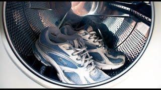 как постирать обувь в стиралке
