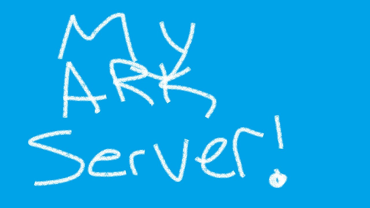 My Ark Server Is About To Release!