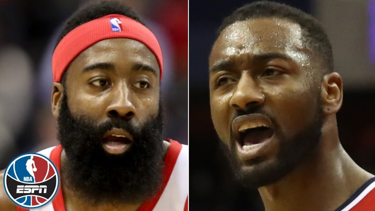 James Harden's 54 not enough in Rockets' overtime loss to John Wall, Wizards | NBA Highlights