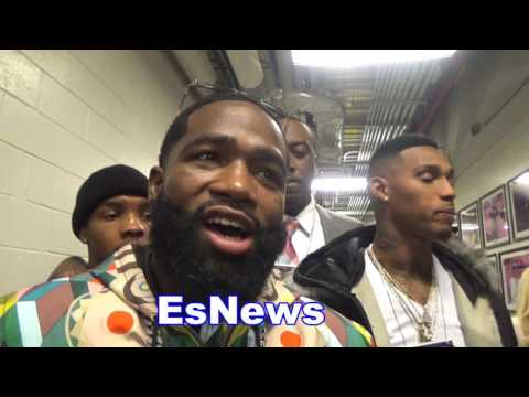 Adrien Broner on $3500 Shoe, Hand Injury, Danny Garcia Loss, Next Fight  - EsNews Boxing