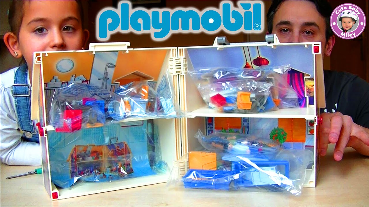 Playmobil  Das Mitnehm Puppenhaus Wird Ausgepackt