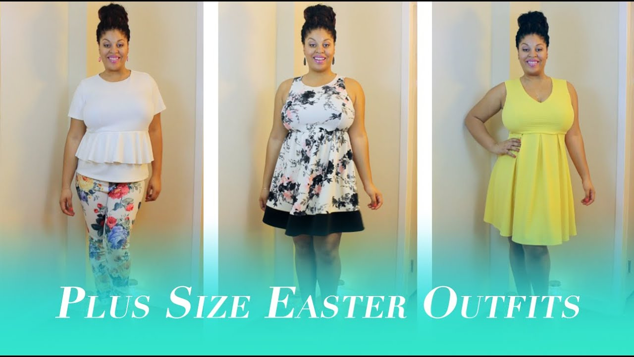 971a3b99bf 3 Plus Size Easter Outfits - YouTube
