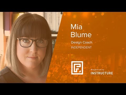 Don't Try to Design a Design Culture by Mia Blume at Front Salt Lake City 2017