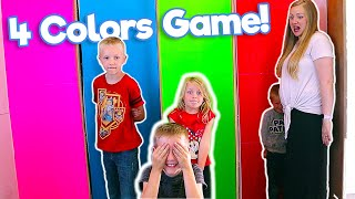 4 Colors Hiding and Guessing Game!