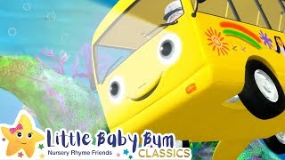 Underwater Bus Song | Little Baby Bum | Cartoons and Kids Songs | LBB | Songs For Kids
