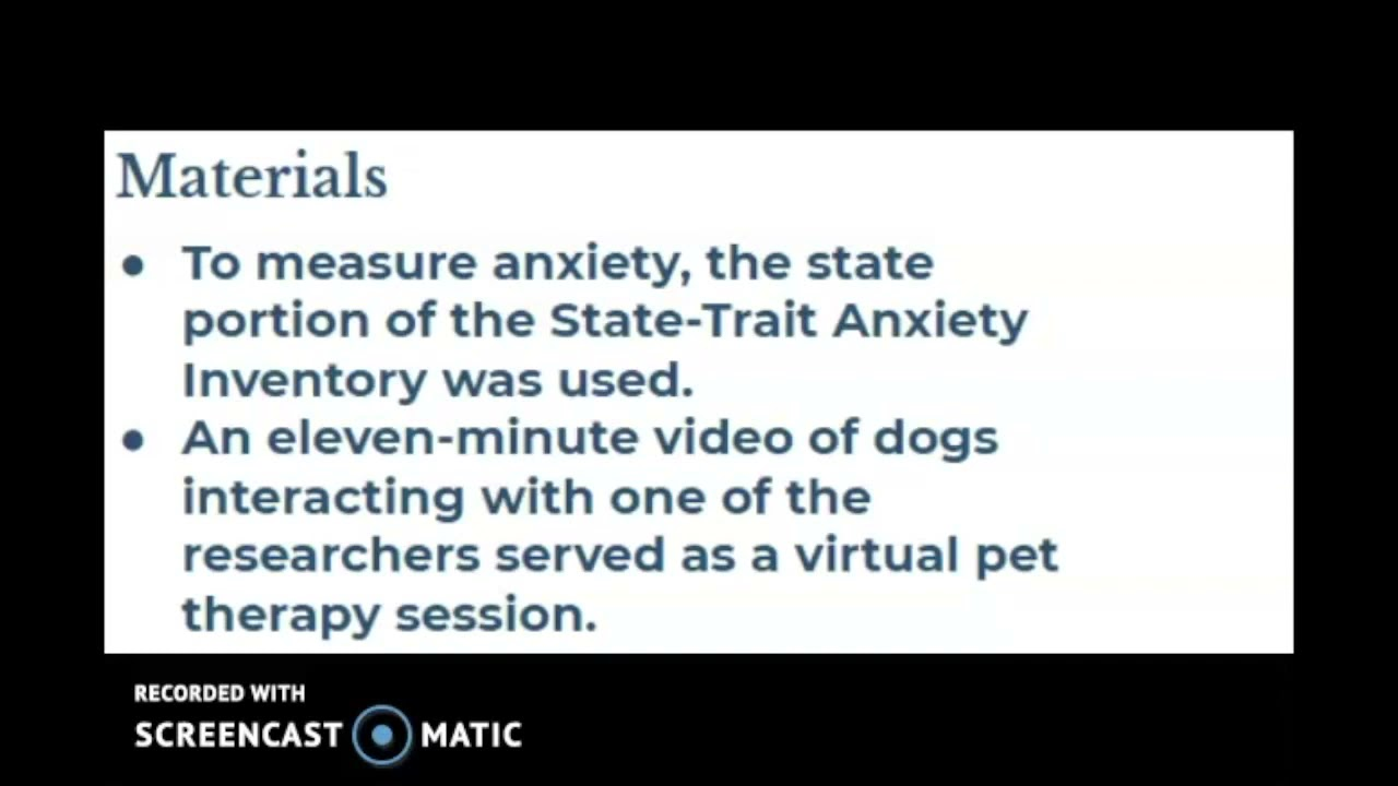 Virtual Pet Therapy: A New Way to Reduce Anxiety?