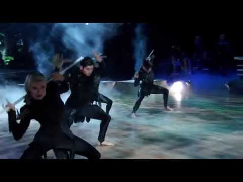 Dancing With the Stars: Willow and Mark's Hunger Games Tribute (S20, E4)