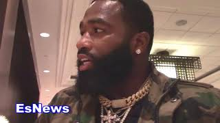 MUST SEE What Adrien Broner Does When Seckbach ASKS Bull ST EsNews Boxing