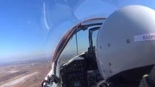 Летная отработка по перехвату воздушных целей