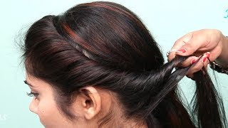 How to do Front Braid Hairstyles for Long Hair || Everyday Hairstyles for Girls || Hairstyles 2019