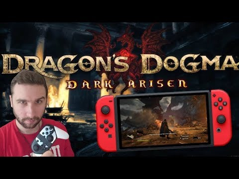 Un EXCELLENT RPG En MONDE OUVERT Sur SWITCH | DRAGON'S DOGMA DARK ARISEN, Gameplay Découverte FR !