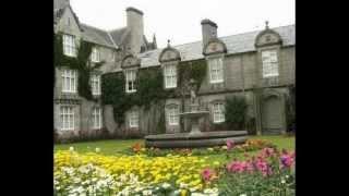 Balmoral Castle Royal Deeside Aberdeenshire Scotland