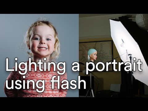 Simple Lighting Set-up For Portrait Photography