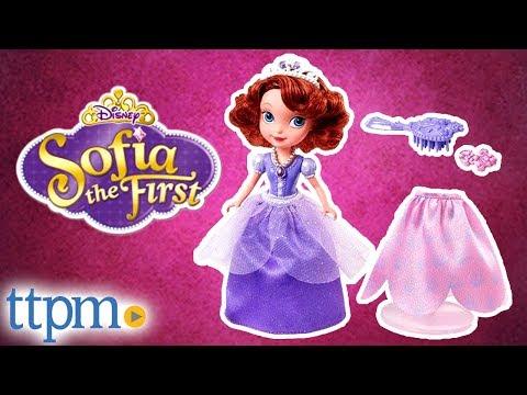 eb844b4e6e Sofia the First Sofia and Royal Fashions from Mattel - YouTube
