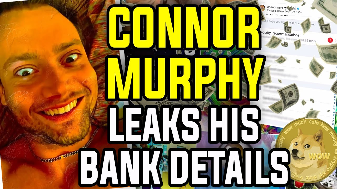 Connor Murphy Leaks His Bank Details And Has Convinced Me To Never Do Ayahuasca