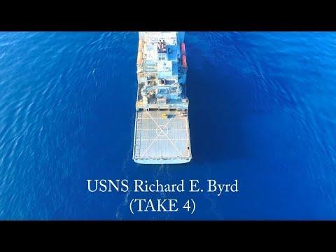 GoPro HD: Columbia River (USNS Richard E. Byrd TAKE 4)