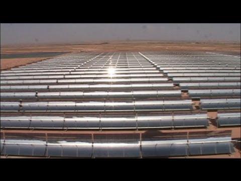 euronews hi-tech - Maroc : une centrale hybride unique en Afrique