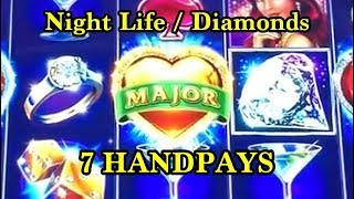 HANDPAY COLLECTION: Lock it Link Night Life/Diamonds