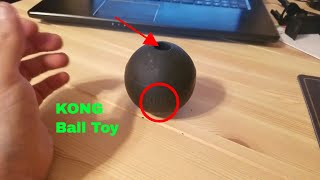 ✅  How To Use Kong Large Rubber Ball Toy Review