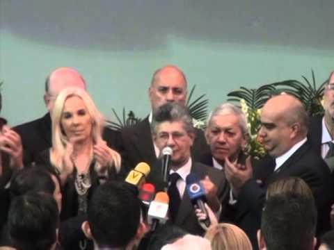 Intervención de Henry Ramos Allup en las exequias del Presidente Jaime Lusinchi.