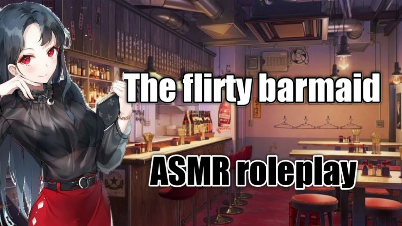 The flirty bartender - [F4A] {Chatting} {Strangers to more} - ASMR girlfriend roleplay