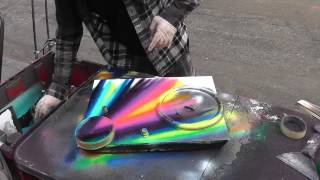 New York City Spray Paint Artist thumbnail