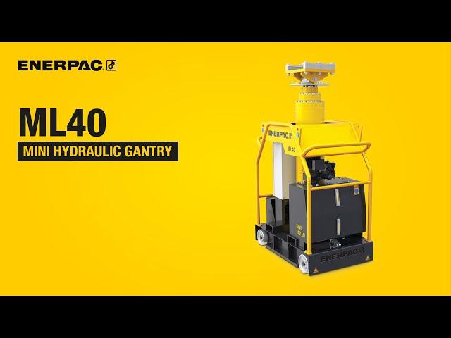 ML40 Mini Hydraulic Gantry | Enerpac
