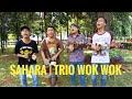 Ngakak Parah🤣 Trio Wok Wok Cover Lagu SAHARA Lagu Jadul Tapi Lucu Auto Goyang Dibuat Abet Dkk🤣💃💃