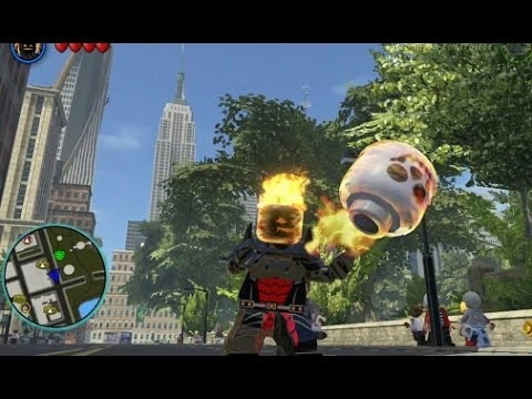 LEGO Marvel Super Heroes - Unlocking Dormammu + Free Roam Gameplay ...