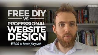 Free DIY vs Professional Website Design