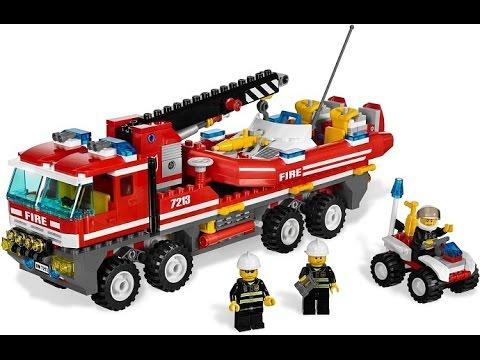 Worksheet. Lego Camiones de Bomberos Juguetes Para Nios  YouTube