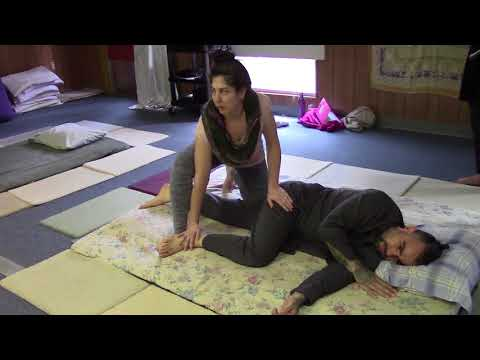 Traditional Thai Yoga Massage Tutorial Northern style Side Flow